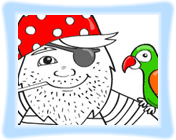 Pirate Coloring Game - Play Game