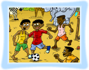 World Cup In Africa Coloring Game